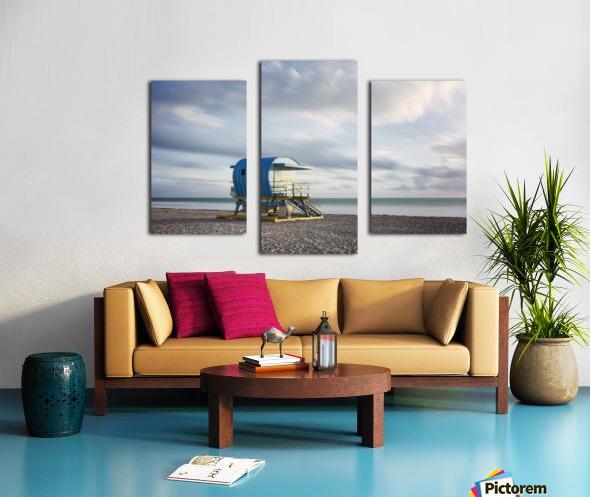 Miami Beach 042 Canvas print