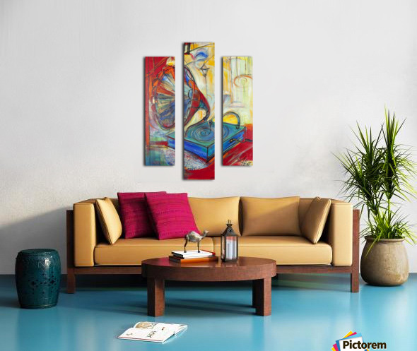From the series of: Music Canvas print