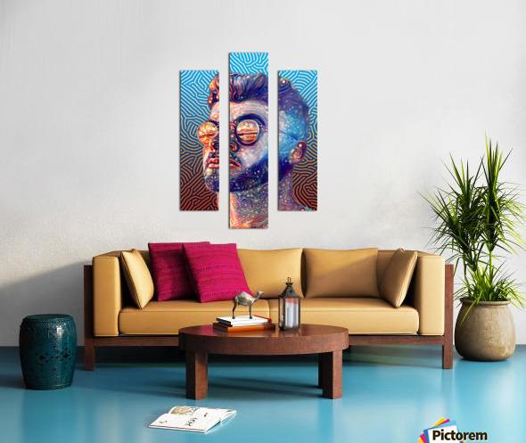 Dreamy Portrait II Canvas print