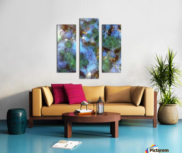 Audible water Canvas print
