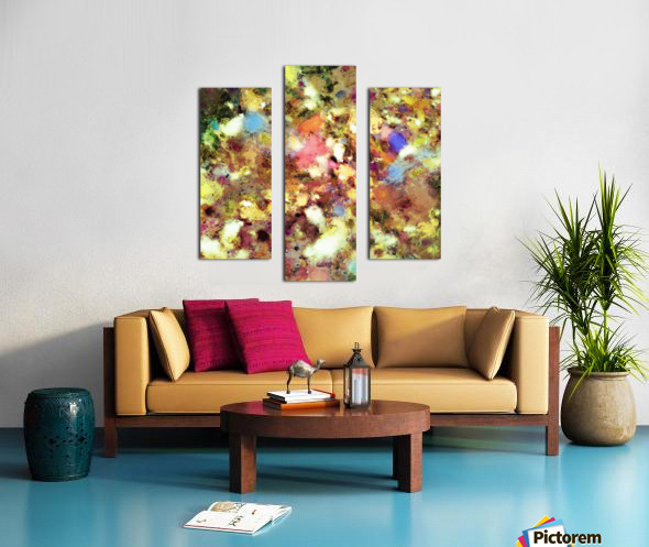 Discarded blooms Canvas print