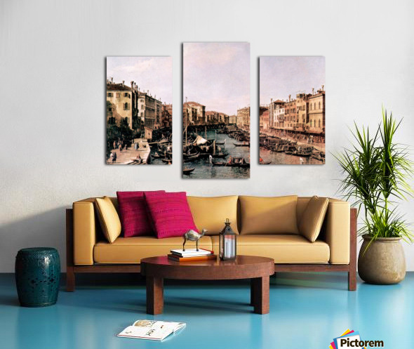 Grand Canal -2- by Canaletto Canvas print