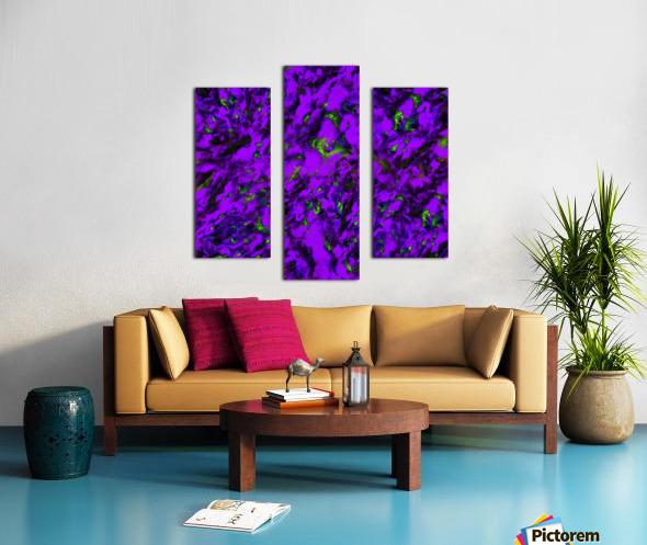 Fluttering purple Canvas print