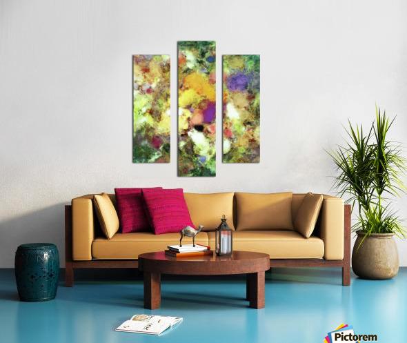 Forgotten petals Canvas print