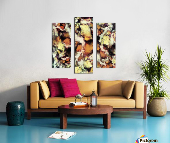 Fractured viewpoint Canvas print