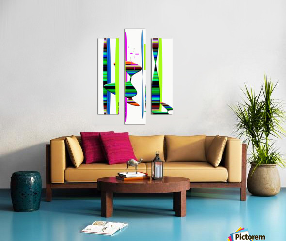 LINEAR 1 Canvas print