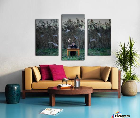 Deperson Canvas print