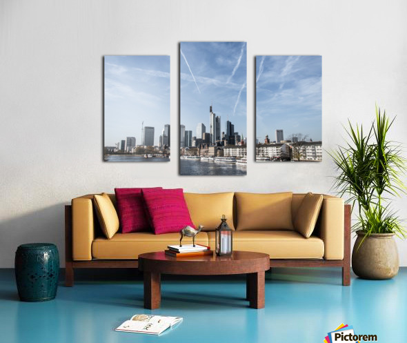frankfurt skyscraper Canvas print