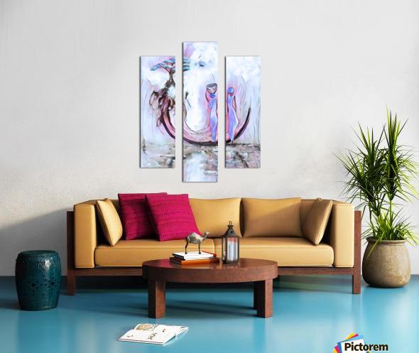 Deracine Canvas print