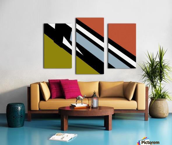 Bridge  X Canvas print