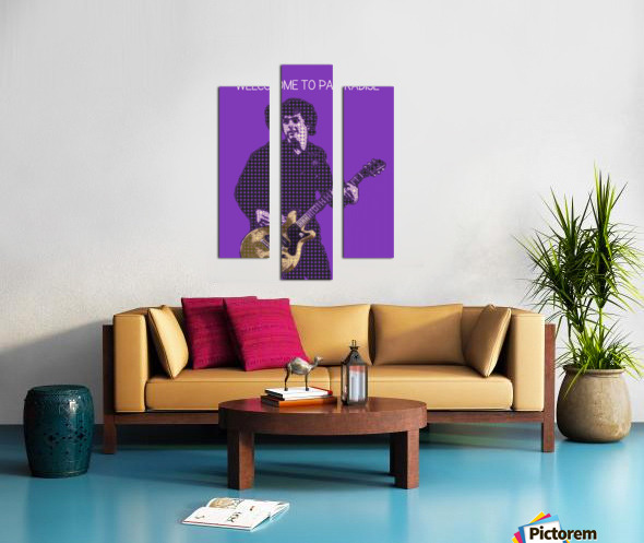 welcome to paradise   Billie Joe Armstrong Canvas print