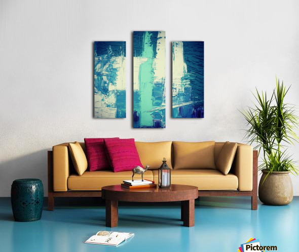 atlantis eternal Canvas print