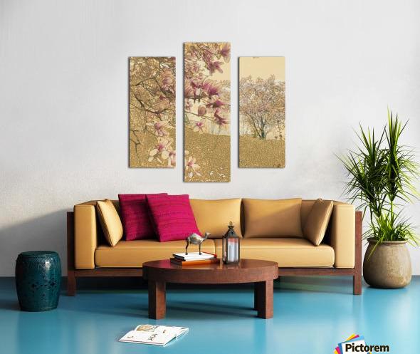 PInk Magnolia Tree Canvas print