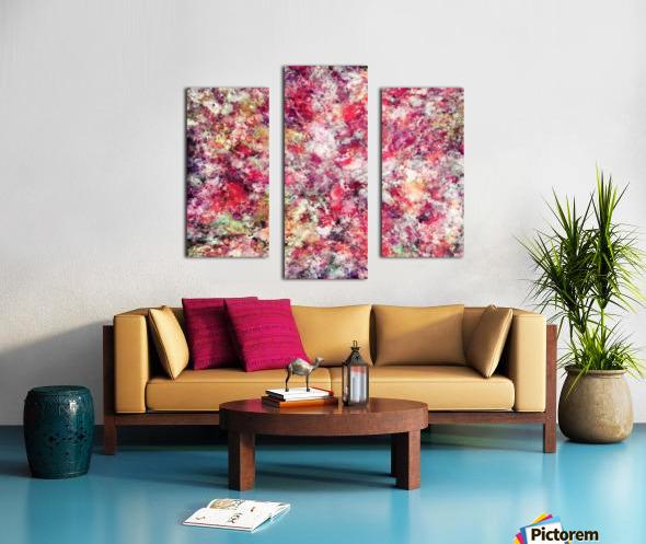 Rambling roses Canvas print