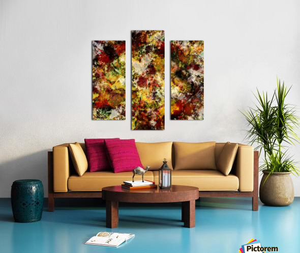 Push Canvas print