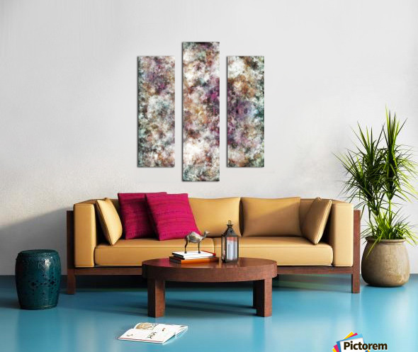 Quietly being a ghost Canvas print