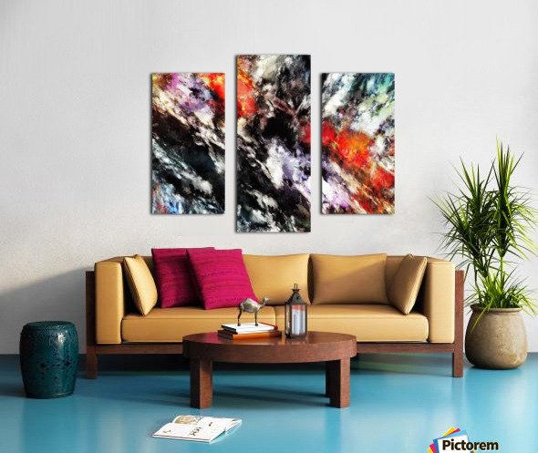 Rattle Canvas print
