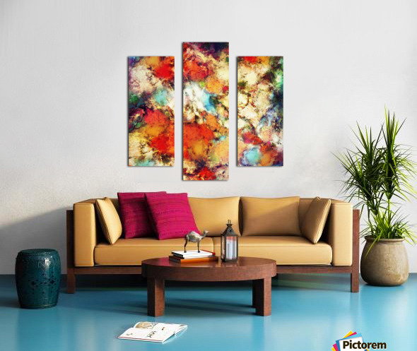 Red resistor Canvas print