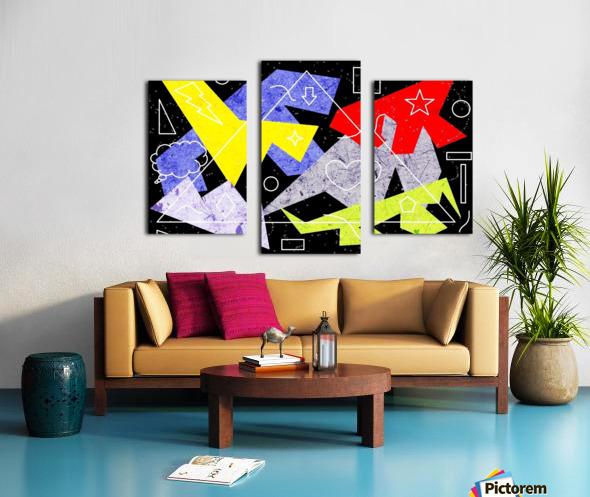Simple Shapes II Canvas print