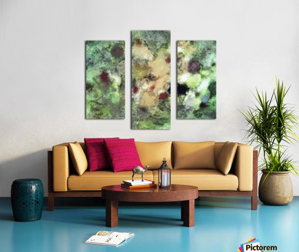Sediment Canvas print