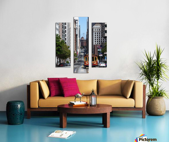 San Francisco City Scene Canvas print