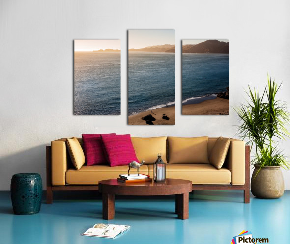 Marshall Beach Sunsets Canvas print