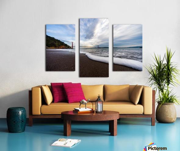 Kirby Cove Canvas print