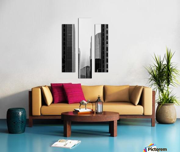 Vanishing Tower Canvas print