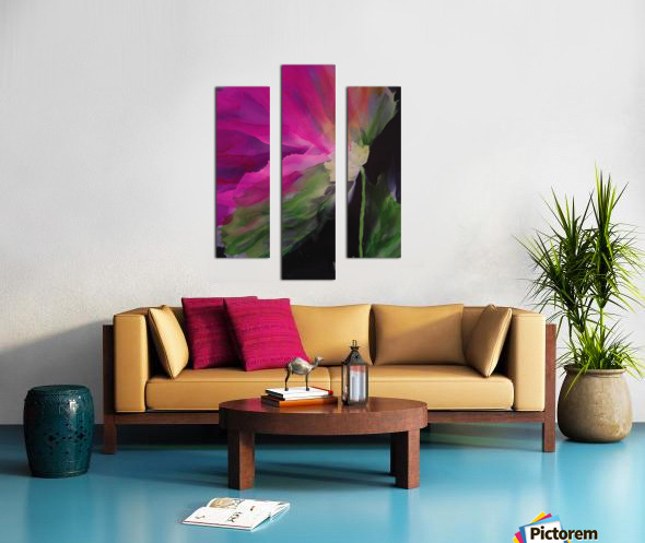 Windblown Blossom Canvas print