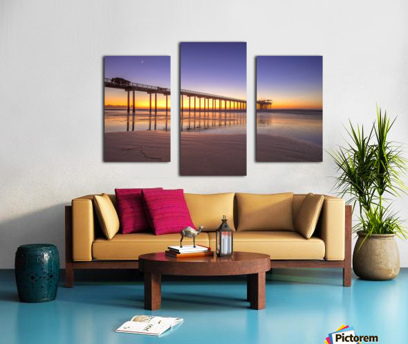 Sunset Therapy Canvas print