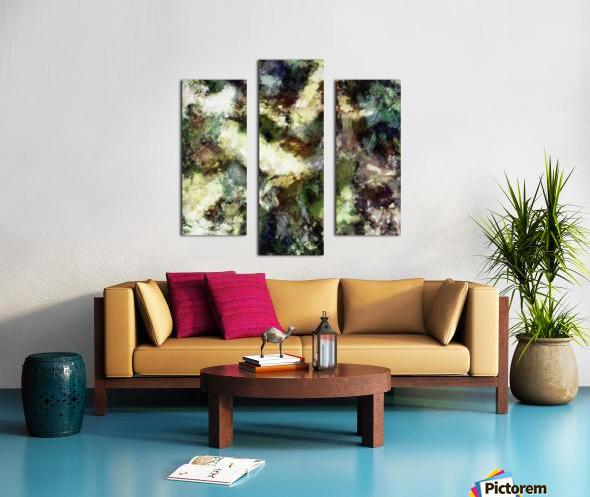 Silent erosion Canvas print