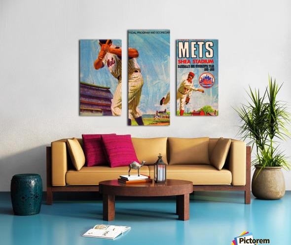 1969 New York Mets Canvas print