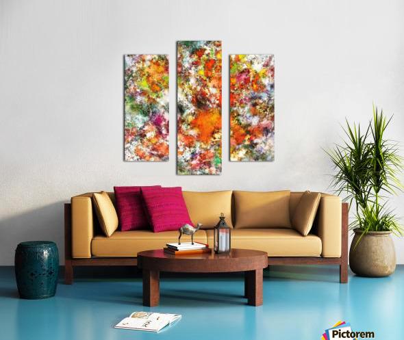 Spangle Canvas print