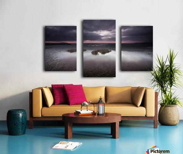 Machynys sunset Canvas print