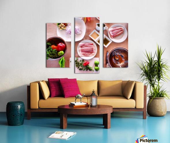 Ceviche  Canvas print