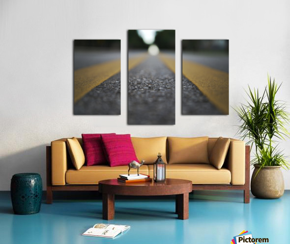 The Road Before You Canvas print