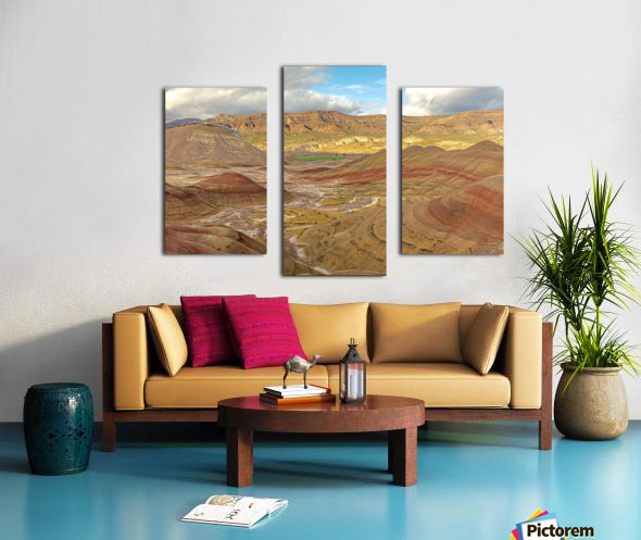 Nature is best artist Canvas print