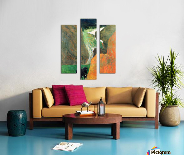 Hover Above the Abyss by Gauguin Canvas print