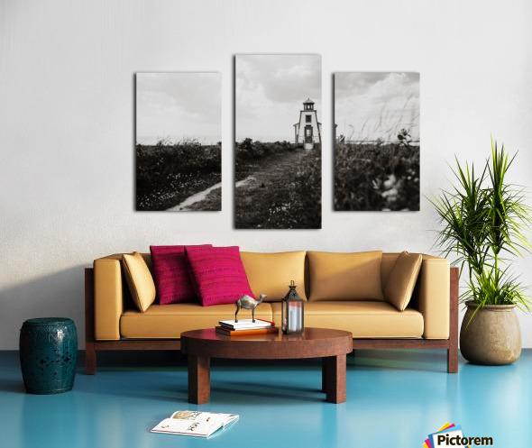 Phare de Saint-Andre Kamouraska Impression sur toile