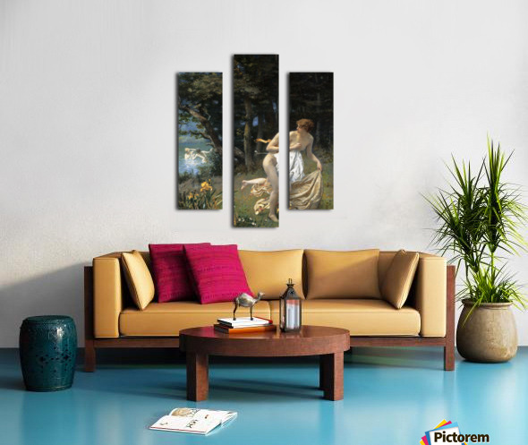 Diana's Maidens Canvas print