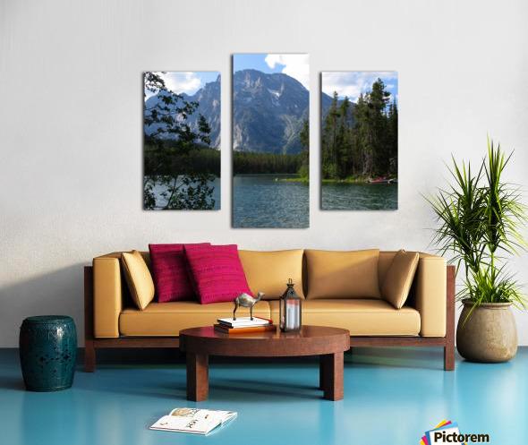 Boulder Island Respite 1 Canvas print