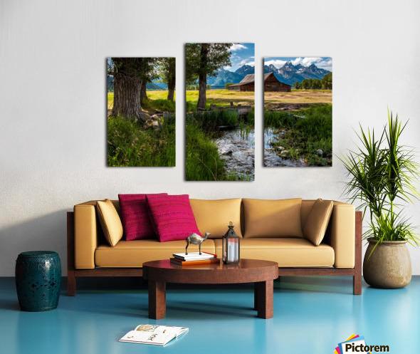 T.a. Moulton Barn - Grand Teton Canvas print