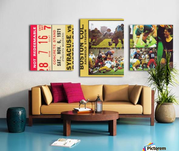 syracuse university gift ideas for college alumni Canvas print