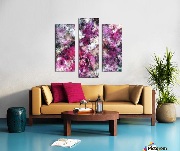 Unexpected visitor Canvas print