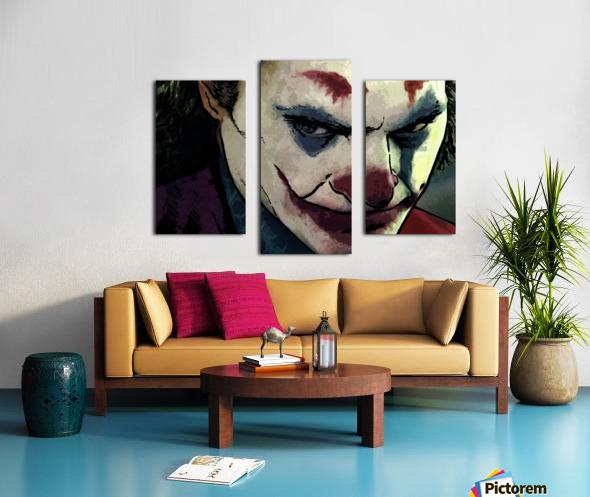 JOKER Joaquin Phoenix Canvas print