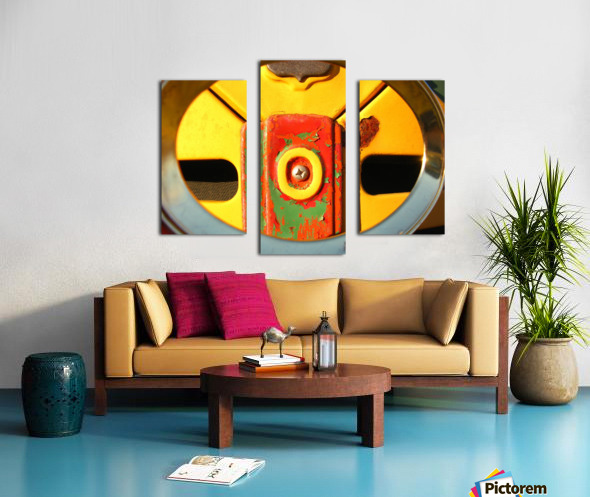 Rusted Love Canvas print