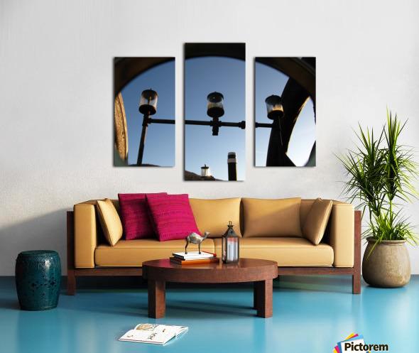 Perculating Dreams Canvas print