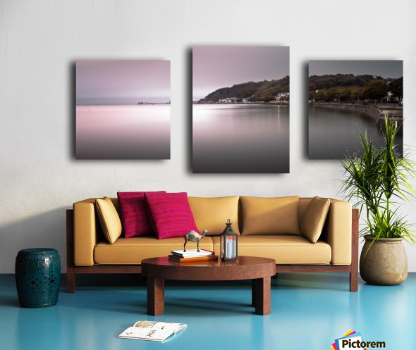 Mumbles coastline Swansea Canvas print
