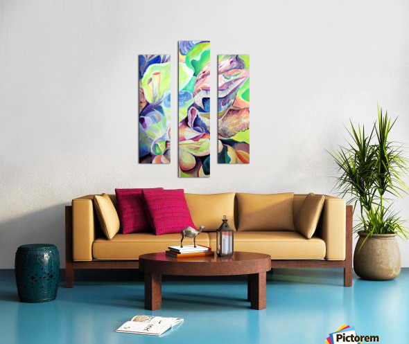Realm of Exotic Nature  Canvas print