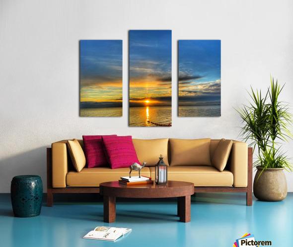 Ocean Sunsets Impression sur toile